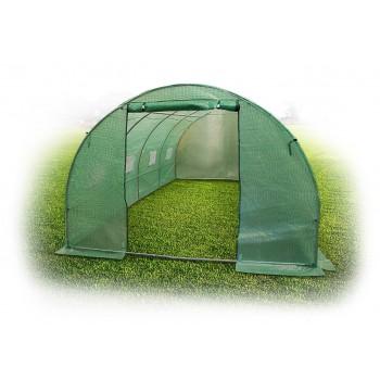 Odlingstält, växthustält höjd 2m, olika storlekar 6kvm-18kvm, med fönster, grön