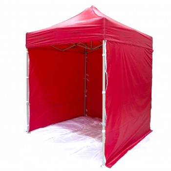 Tält 2x2m H35 DeLuxe (22 färger), mycket stabil expresstält - tillval för tryck, 4e vägg, dörr, fönster (snabbtält, arbetstält, försäljningstält, eventtält, reklamtält)