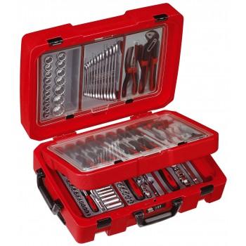 Praktiskt och tålig verktygsväska, serviceväska med 110 verktyg från Teng Tools