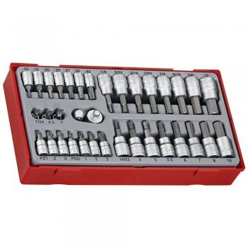 hylsbits, hylsor, bits, HYLSBITSSATS , hylsbits, hylsbitar, TTBS35-P, TENG TOOLS TTBS35-P, Teng Tools, verktyg teng tools, handverktyg teng tools, verktyg