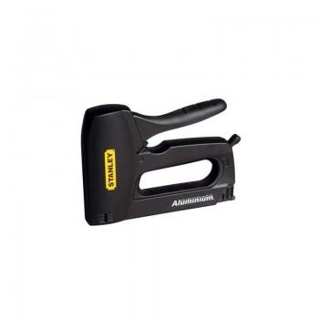 Häftpistol / spikpistol, för häftklammer typ A 6, 8, 10, 12, 14 mm, spikar typ J 12, 15 mm, Stanley