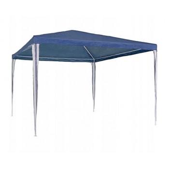 Paviljong 3x3m, utan väggar (tält, trädgårdstält, partytält), blå