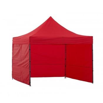 Tält 2x2m, stabil av bra kvalitet, 3 eller 4 väggar (snabbtält, arbetstält, försäljningstält, eventtält)