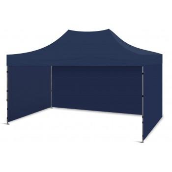 Tält 3x4.5m, stabil av bra kvalitet, 3 eller 4 väggar (snabbtält, arbetstält, försäljningstält, eventtält)