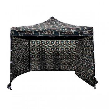 Tält 3x3m Kamouflagetält , stabil av bra kvalitet, 3 eller 4 väggar (camogrön, militärtäl, snabbtält, försäljningstält, eventtält)