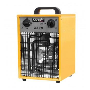 Byggfläkt, värmefläkt 1.6-3.3 kW 230V, IP44, Xaram