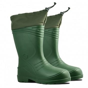 Me    n's welli    ngto    n boots with collar a    nd li    ni    ng
