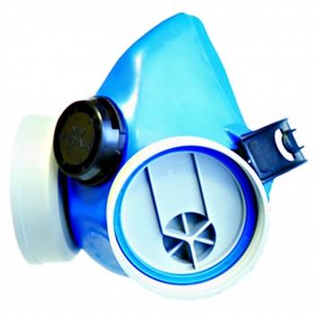 Euromask - lackeringsmask, målarmask , plats för 2st. UNO NEW filter, med ventil, silikon