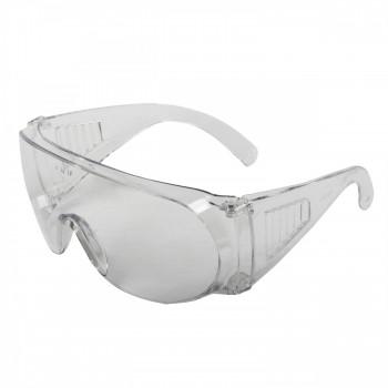 Röktonade skyddsglasögon av hårdplast