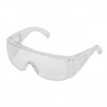 Färglösa skyddsglasögon av hårdplast
