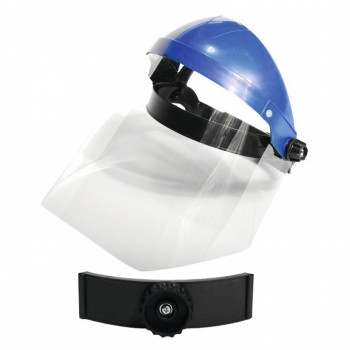 Skyddsvisir, visir 1mm tjockt polykarbonat, CE, LAHTI