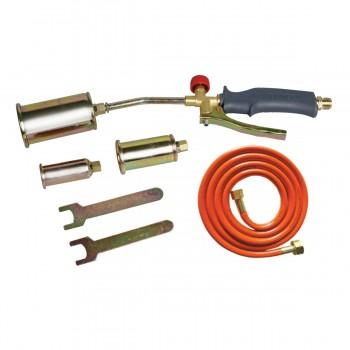 Lödbrännare, sats med 25mm, 35mm, 50mm munstycken, slang 2m, PROLINE