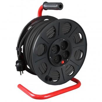 Kabelvinda 220V 50m, 3x1.5mm2, IP44, jordad IP20, Proline