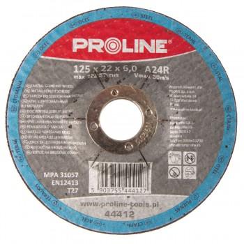 Slipskiva för metall T27 230x6x22A24R PROLINE